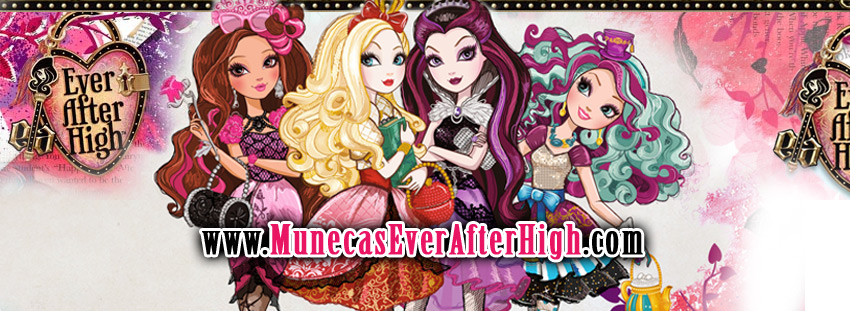 Fondo con varios personajes de las Ever After High